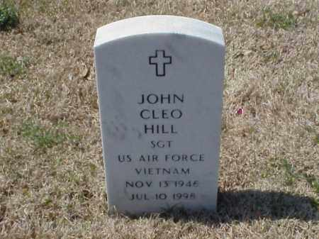 HILL (VETERAN VIET), JOHN CLEO - Pulaski County, Arkansas | JOHN CLEO HILL (VETERAN VIET) - Arkansas Gravestone Photos