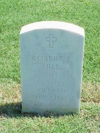 HILL (VETERAN VIET), ROBERT L - Pulaski County, Arkansas   ROBERT L HILL (VETERAN VIET) - Arkansas Gravestone Photos