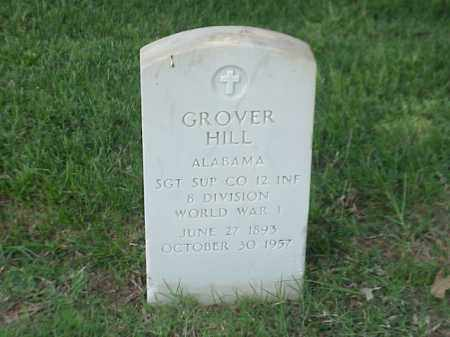 HILL (VETERAN WWI), GROVER - Pulaski County, Arkansas | GROVER HILL (VETERAN WWI) - Arkansas Gravestone Photos