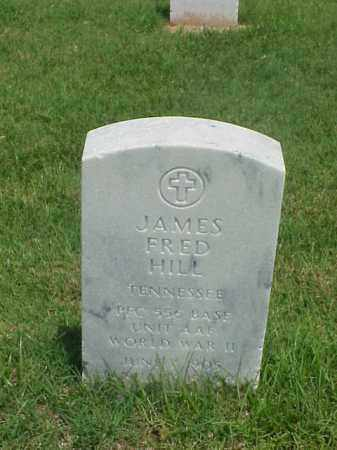 HILL (VETERAN WWII), JAMES FRED - Pulaski County, Arkansas | JAMES FRED HILL (VETERAN WWII) - Arkansas Gravestone Photos