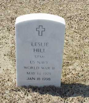 HILL (VETERAN WWII), LESLIE - Pulaski County, Arkansas | LESLIE HILL (VETERAN WWII) - Arkansas Gravestone Photos