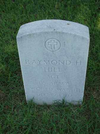 HILL (VETERAN WWII), RAYMOND H - Pulaski County, Arkansas | RAYMOND H HILL (VETERAN WWII) - Arkansas Gravestone Photos