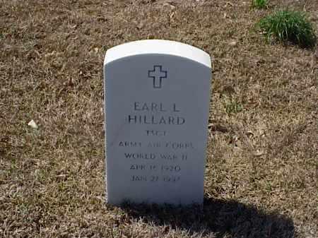 HILLARD (VETERAN WWII), EARL L - Pulaski County, Arkansas | EARL L HILLARD (VETERAN WWII) - Arkansas Gravestone Photos