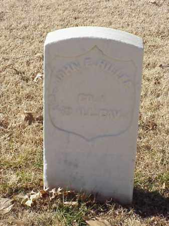 HILLER  (VETERAN UNION), JOHN E - Pulaski County, Arkansas | JOHN E HILLER  (VETERAN UNION) - Arkansas Gravestone Photos