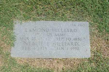 HILLIARD, NEALIE E - Pulaski County, Arkansas | NEALIE E HILLIARD - Arkansas Gravestone Photos