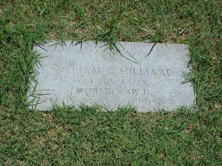 HILLIARD (VETERAN WWII), WILLIAM G - Pulaski County, Arkansas | WILLIAM G HILLIARD (VETERAN WWII) - Arkansas Gravestone Photos