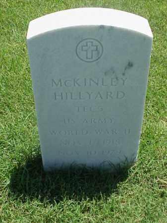 HILLYARD (VETERAN WWII), MCKINLEY - Pulaski County, Arkansas | MCKINLEY HILLYARD (VETERAN WWII) - Arkansas Gravestone Photos