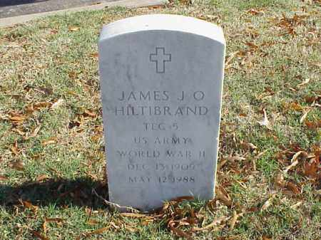 HILTIBRAND  (VETERAN WWII), JAMES J O - Pulaski County, Arkansas | JAMES J O HILTIBRAND  (VETERAN WWII) - Arkansas Gravestone Photos