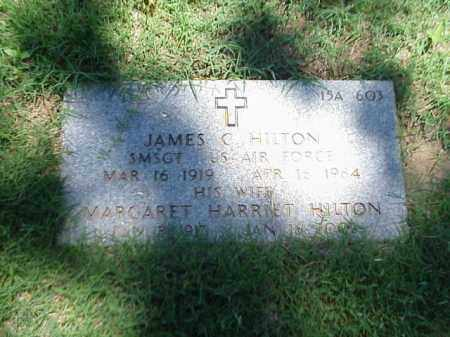 HILTON (VETERAN 2 WARS), JAMES C - Pulaski County, Arkansas | JAMES C HILTON (VETERAN 2 WARS) - Arkansas Gravestone Photos
