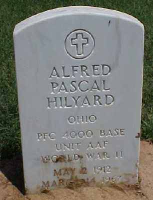HILYARD (VETERAN WWII), ALFRED PASCAL - Pulaski County, Arkansas | ALFRED PASCAL HILYARD (VETERAN WWII) - Arkansas Gravestone Photos