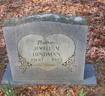 HINDMAN, JEWELL M - Pulaski County, Arkansas | JEWELL M HINDMAN - Arkansas Gravestone Photos