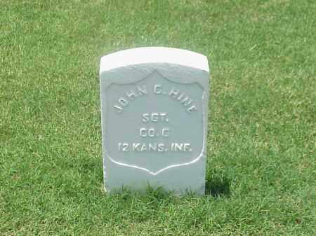 HINE (VETERAN UNION), JOHN C - Pulaski County, Arkansas | JOHN C HINE (VETERAN UNION) - Arkansas Gravestone Photos