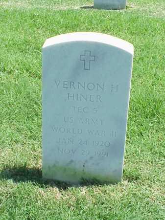 HINER (VETERAN WWII), VERNON H - Pulaski County, Arkansas | VERNON H HINER (VETERAN WWII) - Arkansas Gravestone Photos