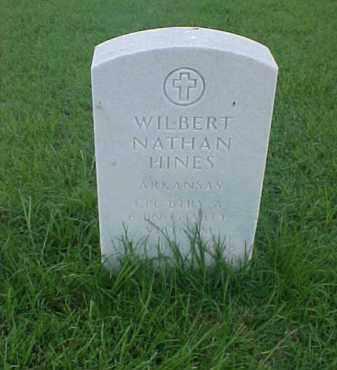 HINES (VETERAN VIET), WILBERT NATHAN - Pulaski County, Arkansas   WILBERT NATHAN HINES (VETERAN VIET) - Arkansas Gravestone Photos