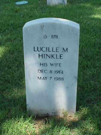 HINKLE, LUCILLE M - Pulaski County, Arkansas | LUCILLE M HINKLE - Arkansas Gravestone Photos