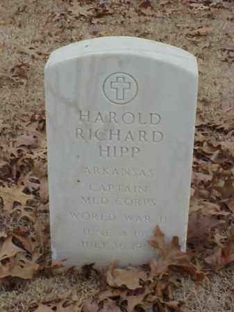 HIPP (VETERAN WWII), HAROLD RICHARD - Pulaski County, Arkansas | HAROLD RICHARD HIPP (VETERAN WWII) - Arkansas Gravestone Photos