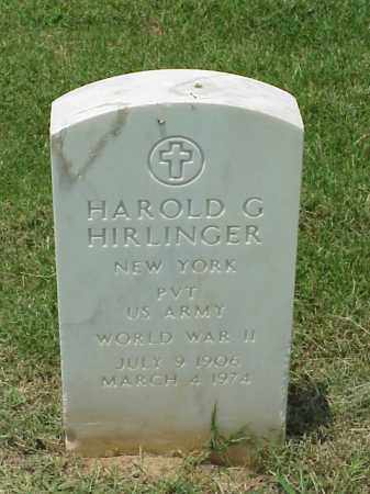 HIRLINGER (VETERAN WWII), HAROLD G - Pulaski County, Arkansas | HAROLD G HIRLINGER (VETERAN WWII) - Arkansas Gravestone Photos