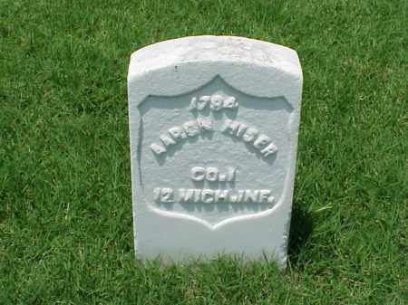 HISER (VETERAN UNION), AARON - Pulaski County, Arkansas | AARON HISER (VETERAN UNION) - Arkansas Gravestone Photos
