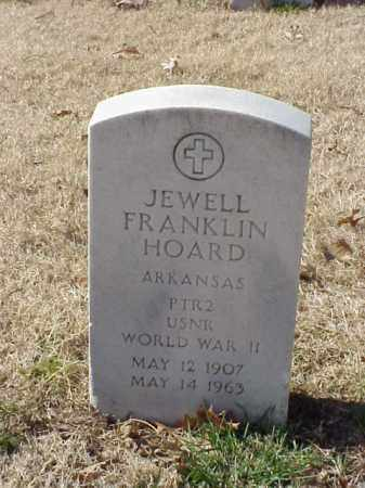 HOARD  (VETERAN WWII), JEWELL FRANKLIN - Pulaski County, Arkansas | JEWELL FRANKLIN HOARD  (VETERAN WWII) - Arkansas Gravestone Photos