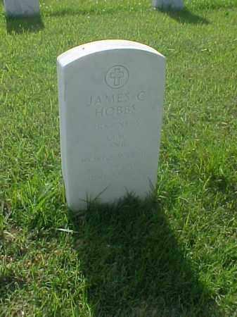 HOBBS (VETERAN WWII), JAMES C - Pulaski County, Arkansas | JAMES C HOBBS (VETERAN WWII) - Arkansas Gravestone Photos