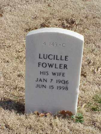 FOWLER HOBBY, LUCILLE - Pulaski County, Arkansas | LUCILLE FOWLER HOBBY - Arkansas Gravestone Photos