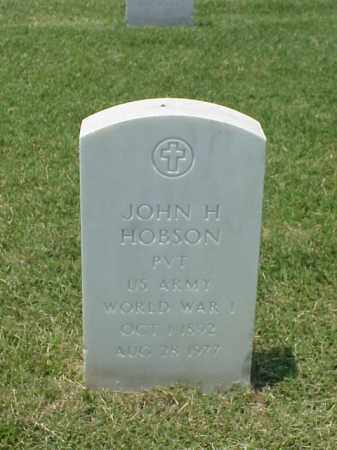 HOBSON (VETERAN WWI), JOHN H - Pulaski County, Arkansas | JOHN H HOBSON (VETERAN WWI) - Arkansas Gravestone Photos