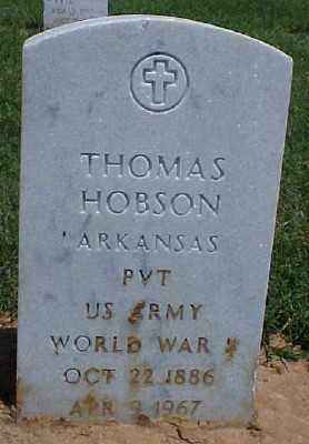 HOBSON (VETERAN WWI), THOMAS - Pulaski County, Arkansas | THOMAS HOBSON (VETERAN WWI) - Arkansas Gravestone Photos