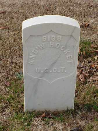 HOCKET  (VETERAN UNION), ANDREW - Pulaski County, Arkansas | ANDREW HOCKET  (VETERAN UNION) - Arkansas Gravestone Photos