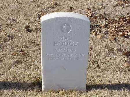 HODGE  (VETERAN WWI), HAL - Pulaski County, Arkansas | HAL HODGE  (VETERAN WWI) - Arkansas Gravestone Photos