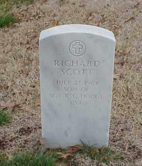 HODGE, RICHARD SCOTT - Pulaski County, Arkansas | RICHARD SCOTT HODGE - Arkansas Gravestone Photos