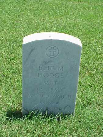 HODGE (VETERAN 2 WARS), ELIE M - Pulaski County, Arkansas | ELIE M HODGE (VETERAN 2 WARS) - Arkansas Gravestone Photos