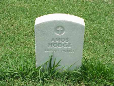 HODGE, AMOS - Pulaski County, Arkansas | AMOS HODGE - Arkansas Gravestone Photos