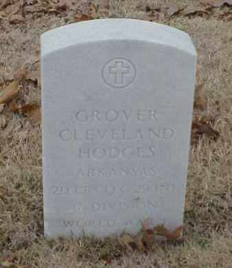 HODGES  (VETERAN WWI), GROVER CLEVELAND - Pulaski County, Arkansas | GROVER CLEVELAND HODGES  (VETERAN WWI) - Arkansas Gravestone Photos