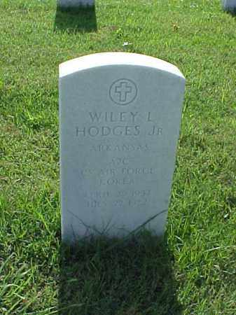 HODGES, JR (VETERAN KOR), WILEY L - Pulaski County, Arkansas | WILEY L HODGES, JR (VETERAN KOR) - Arkansas Gravestone Photos