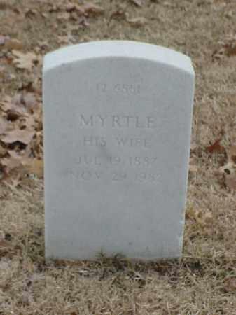 HODGES, MYRTLE - Pulaski County, Arkansas | MYRTLE HODGES - Arkansas Gravestone Photos