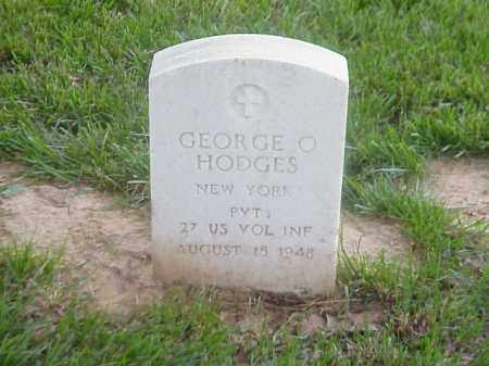 HODGES (VETERAN SAW), GEORGE O - Pulaski County, Arkansas | GEORGE O HODGES (VETERAN SAW) - Arkansas Gravestone Photos