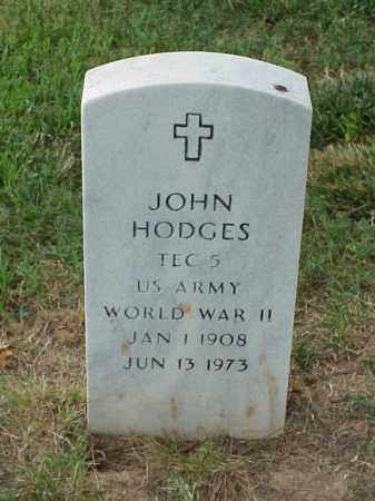 HODGES (VETERAN WWII), JOHN - Pulaski County, Arkansas | JOHN HODGES (VETERAN WWII) - Arkansas Gravestone Photos