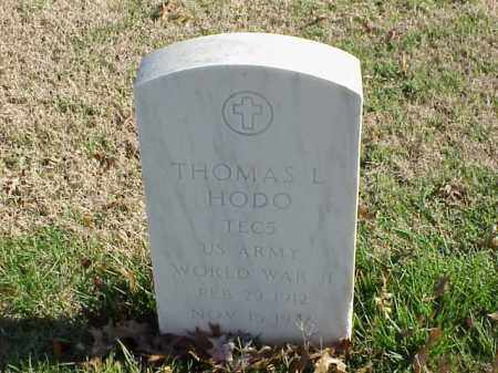 HODO  (VETERAN WWII), THOMAS L - Pulaski County, Arkansas | THOMAS L HODO  (VETERAN WWII) - Arkansas Gravestone Photos
