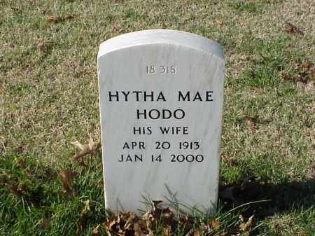 HODO, HYTHA MAE - Pulaski County, Arkansas | HYTHA MAE HODO - Arkansas Gravestone Photos