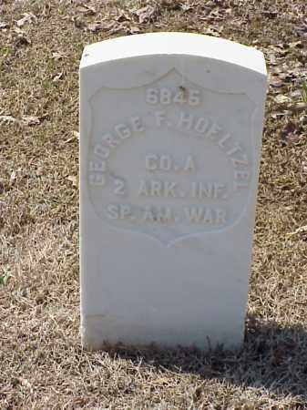 HOELTZEL (VETERAN SAW), GEORGE F - Pulaski County, Arkansas | GEORGE F HOELTZEL (VETERAN SAW) - Arkansas Gravestone Photos