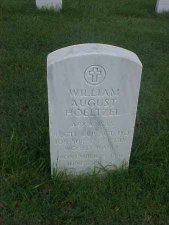 HOELTZEL (VETERAN WWI), WILLIAM AUGUST - Pulaski County, Arkansas | WILLIAM AUGUST HOELTZEL (VETERAN WWI) - Arkansas Gravestone Photos