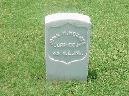 HOENER (VETERAN UNION), JOHN H - Pulaski County, Arkansas | JOHN H HOENER (VETERAN UNION) - Arkansas Gravestone Photos