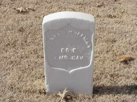 HOFFMAN  (VETERAN UNION), CONRAD - Pulaski County, Arkansas | CONRAD HOFFMAN  (VETERAN UNION) - Arkansas Gravestone Photos