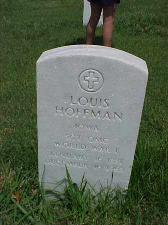 HOFFMAN (VETERAN WWI), LOUIS - Pulaski County, Arkansas | LOUIS HOFFMAN (VETERAN WWI) - Arkansas Gravestone Photos