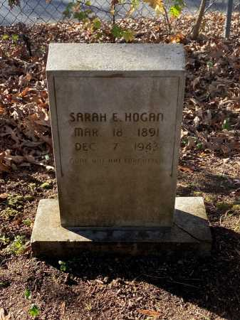 HOGAN, SARAH E. - Pulaski County, Arkansas | SARAH E. HOGAN - Arkansas Gravestone Photos