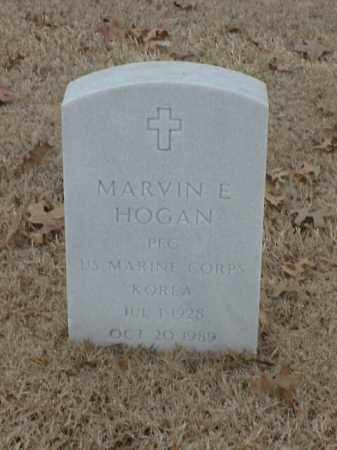 HOGAN (VETERAN KOR), MARVIN E - Pulaski County, Arkansas | MARVIN E HOGAN (VETERAN KOR) - Arkansas Gravestone Photos
