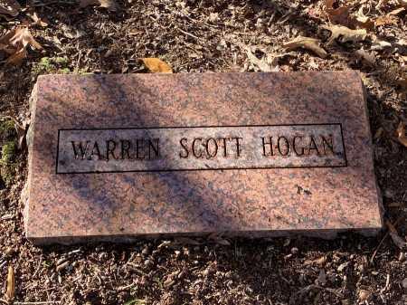 HOGAN, WARREN SCOTT - Pulaski County, Arkansas | WARREN SCOTT HOGAN - Arkansas Gravestone Photos