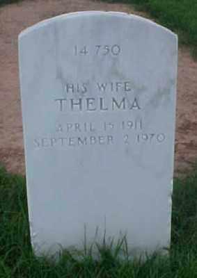 HOGG, THELMA - Pulaski County, Arkansas   THELMA HOGG - Arkansas Gravestone Photos