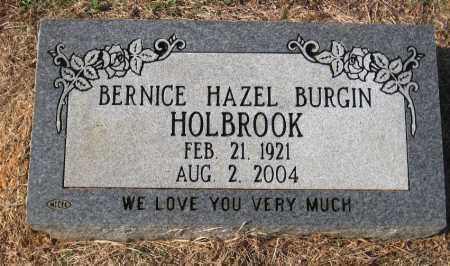 HOLBROOK, BERNICE HAZEL - Pulaski County, Arkansas | BERNICE HAZEL HOLBROOK - Arkansas Gravestone Photos