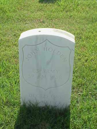 HOLDEN (VETERAN SAW), JOHN - Pulaski County, Arkansas | JOHN HOLDEN (VETERAN SAW) - Arkansas Gravestone Photos